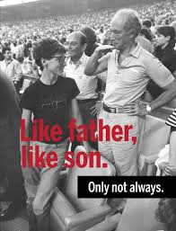 like father like son only not always ca