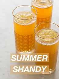 summer shandy i m a total craft beer and chagne lady myself and during hot summer months i m usually craving one of