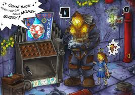 Bioshock Vending Machines Impressive Circus Of Value Xpost RBioshock Gaming
