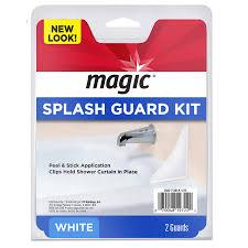 magic 2 pack white splash guards