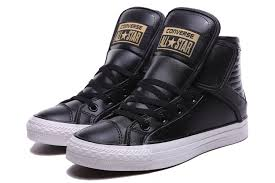 converse black leather high tops shoes various design los angeles various colors los angeles