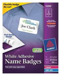 Avery 5395 Name Badges