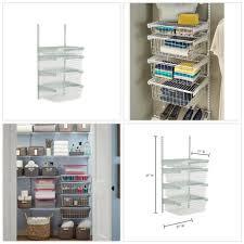 drawer hanging storage sy stainless steel metal durable adjule bracket
