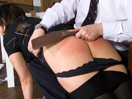 Spanking and ass fucked