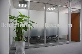 partition in office design. great design of office glass partition wall in aluminium profile photo detailed about
