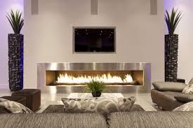 Wohnzimmer Design Mit Einem Kamin Und Deko