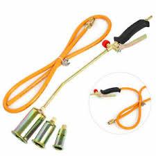 details about weed gr shrub garden kill burner fire kit handle ne gas torch