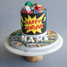 Avengers Cake 5 Eat Cake Today Birthday Cake Delivery Klpj