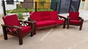 rosewood 3 1 1 designer sofa set