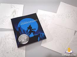 horrorgami diy pop up book kirigami art 5