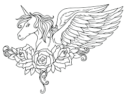 Unicorn Coloring Pages For Adults Free Adult Coloring Sheets New