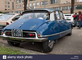 Citroen DS 21 at rally of vintage car Stock Photo, Royalty Free ...