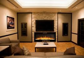 electric fireplace flat panel ideas