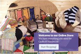 Canadian Quilt Shop,offering premium quilt fabrics,by the yard ... & Canadian Quilt Shop,offering premium quilt fabrics,by the yard,precut quilt  fabric,Extra wide fabric,knitting yarn from Briggs and Little, Primitive  Rug ... Adamdwight.com