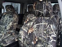 realtree max 4 camo seat covers