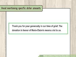 Thank You After Funeral How To Write A Thank You Note After A Funeral 11 Steps