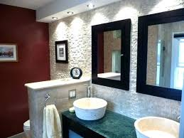 bathroom accent wall ideas walls in tile small wallpaper