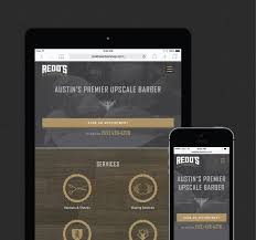 Barber Shop Website Redds Barbershop Web Design Portfolio Fortyseven Media