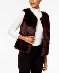 Maison Jules Size Chart Faux Fur Vest