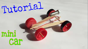 Rubber Band Car Designs How To Make A Mini Rubber Band Car Homemade Toy Tutorial