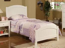 white twin bed. Amazon.com: Contemporary White Finish Kids Twin Bed By Poundex: Kitchen \u0026 Dining 2