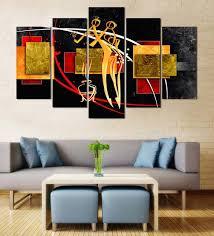 velvet laminated figurative art set
