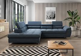 Empona Schlaffunktion Wohnlandschaft Relaxfunktion Couchgarnitur Couch Eck Sofa