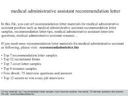 Cover Letter For Medical Assistant Position Cover Letter Examples