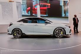 honda civic hatchback modified. 2016 honda civic hatchback prototype live in geneva modified