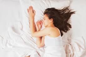 what your sleeping position says about
