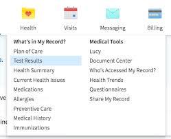 My Norton Chart App How To Get Mynortonchart Test Results Norton Healthcare