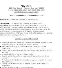 Sample Housekeeping Resume Housekeeping Resume Skills Skills ...