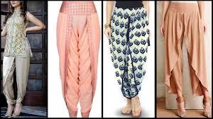 Ladies Lungi Designs New Style Salwar Shalwar Designs Dhoti Patiala Trouser Lungi Tulip Salwar Designs 2017