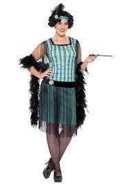 women s plus size 1920s mint coco flapper costume