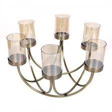 circle of light candelabra