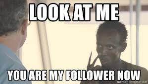 Image result for will you be my follower