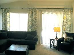 hanging curtains over blinds hanging curtains over sliding glass door can i hang curtains over vertical