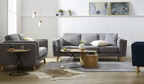 gray couch brown chair. allegra 3 + 2 seat sofa gray couch brown chair l