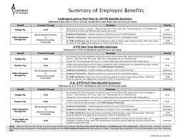 employee benefits package template employee benefits package template benefit summary seogreat info