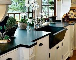 qz937 shining black synthetic stone modern kitchen counter