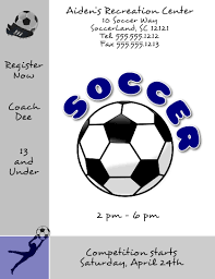 soccer team brochure template pin by flyertutor on free flyer templates flyertutor com flyer