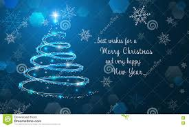 merry christmas and happy new year wallpaper. Plain New Shiny Christmas Tree And Snowflakes On Blue Winter Background Merry  Happy New Year Intended And Wallpaper E