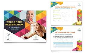 Power Presentation Templates Health Fair Powerpoint Presentation Template Design