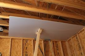 hanging ceiling drywall