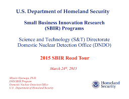 Small Business Innovation Research Sbir Programs Science And