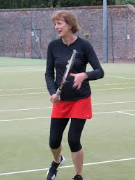 juliet chenery plays tennis runs and cycles