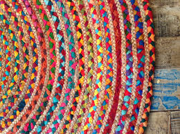 fair trade rugs uk awesome fair trade round multi coloured cotton jute rug 1 1 2