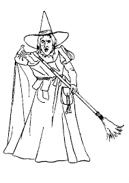 Small Picture Wizard of oz coloring pages wicked witch of the west ColoringStar