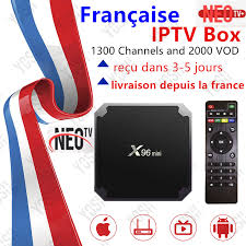 <b>France IPTV X96</b> Mini Android tv box 1 Year neo tv pro subscription ...