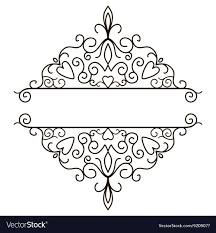 Vintage Design Vintage Design Elements For Page Border